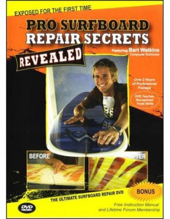 PRO SURFBOARD REPAIR SECRETS REVEALED