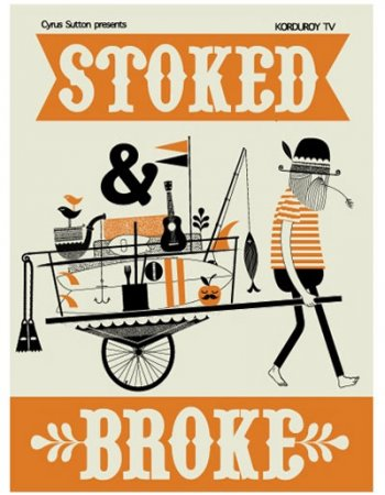 STOKED & BROKE DVD