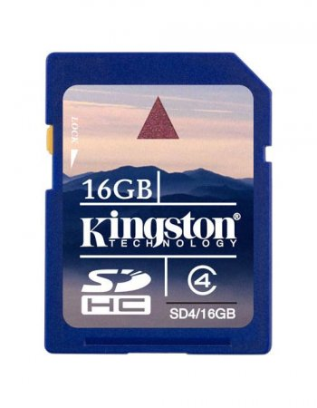 KINGSTON SDHC 16 GB SCHEDA DI MEMORIA