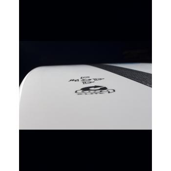"TORQ X-LITE 5'10"" PODMOD AL MERRIK WHITE + PINLINE"