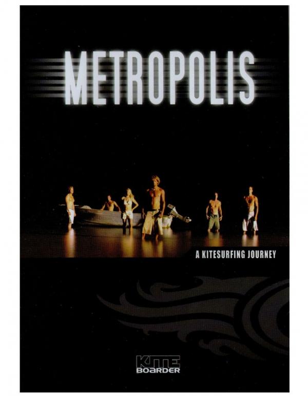 Metropolis dvd kitesurf movie journey