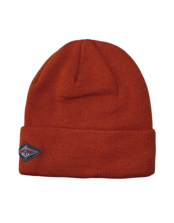 BEAR SURFBOARDS BERRETTO BEANIE RUST