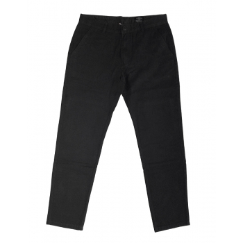 BEAR SURFBOARDS PANTALONI CHINO BLACK