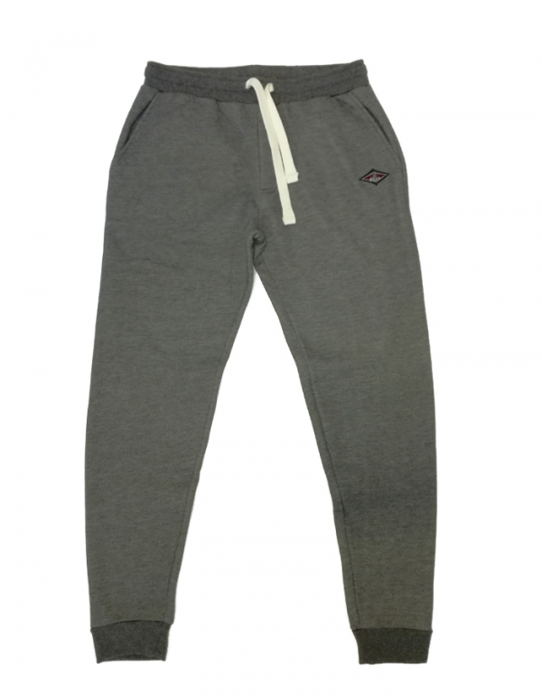 BEAR SURFBOARDS PANTALONI IN FELPA GREY MELANGE