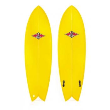 "BEAR SURFBOARDS SAN ONOFRE FISH TWIN FIN 5'2"" - 6'4"""