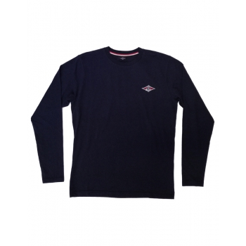 BEAR SURFBOARDS T-SHIRT LOGO DARK NAVY LS