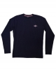 BEAR SURFBOARDS T-SHIRT LOGO MANICA LUNGA DARK NAVY