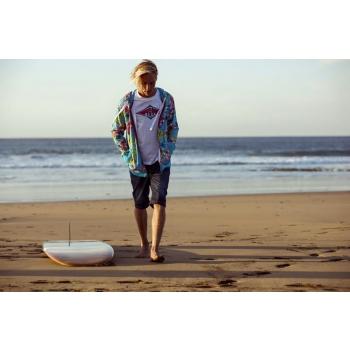 BEAR SURFBOARDS T-SHIRT LOGO OFF WHITE