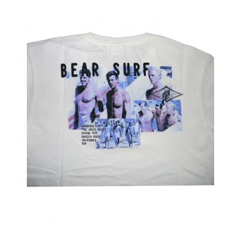 BEAR SURFBOARDS T-SHIRT OVERSIZE PHOTO MERCOLEDì DA LEONI
