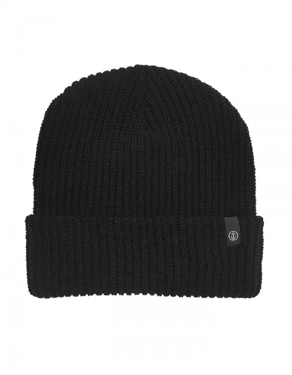 CAPTAIN FIN BEANIE BLACK