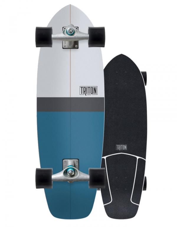 "CARVER TRITON BLUE HORIZON 31"" CX SURFSKATE COMPLETO"