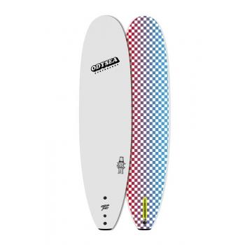 "CATCH SURF ODYSEA PLANK 8'0"" SINGLE FIN WHITE SOFTBOARD"