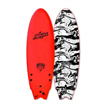 CATCH SURF ODYSEA X LOST 5'5'' ROUNDED NOSE FISH SOFTBOARD