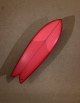 CHRIS CHRISTENSON FISH 5'8'' TWIN FIN RED