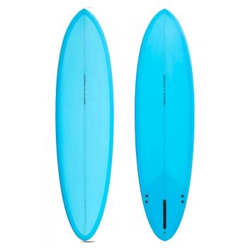 CI MID 7'2 AL MERRICK CHANNEL ISLANDS SURFBOARD