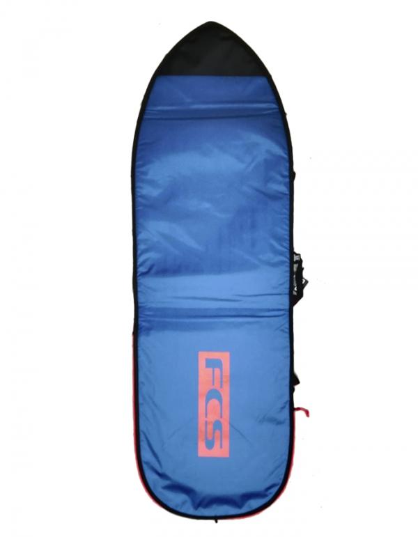 FCS SACCA SINGOLA 6'7'' FISH/FUNBOARD CLASSIC BLUE WHITE