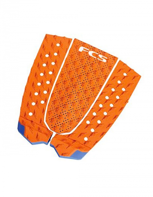 FCS T-3 BURNT ORANGE/BLUE GLASS TAIL PAD