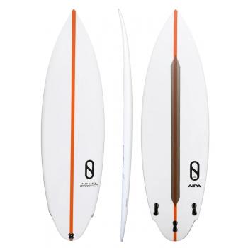 FIREWIRE FLAT EARTH SURFBOARDS FCS FINS ORANGE