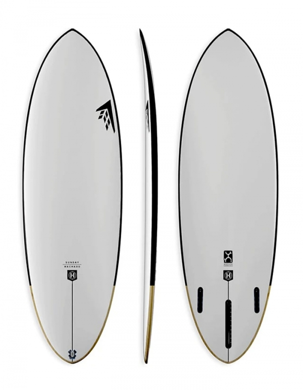 FIREWIRE SUNDAY ROB MACHADO SURFBOARDS FUTURES FINS