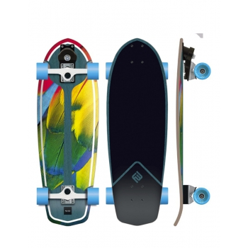 "FLYING WHEELS 29"" PARROT SURF SKATE"
