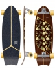 "FLYING WHEELS MOOREA 31"" PLUMERIA SURFSKATE"