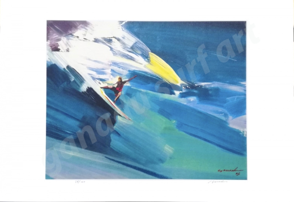 GANADU SURF ART LIMITED EDITION PRINT #16 32x46