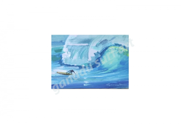 GANADU SURF ART ORIGINAL PAINTINGS BOTTOM 13X18