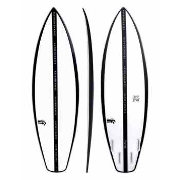 "HAYDENSHAPES HOLY GRAIL 5'11"" FF FUTURE FLEX CLEAR"