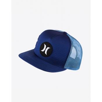 HURLEY BLOCK PARTY SPEED TRUCKER CAP BLUE