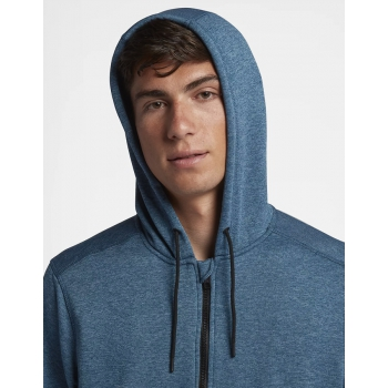 HURLEY DRI-FIT DISPERSE FULL ZIP FELPA ZIP E CAPPUCCIO