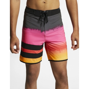 HURLEY PHANTOM BLOCK PARTY FEVER BOARDSHORTS 18""