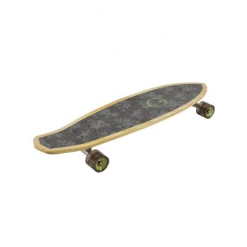 KRYPTONICS SKATEBOARD CLASSIC FLORAL MINI LONGBOARD 32""
