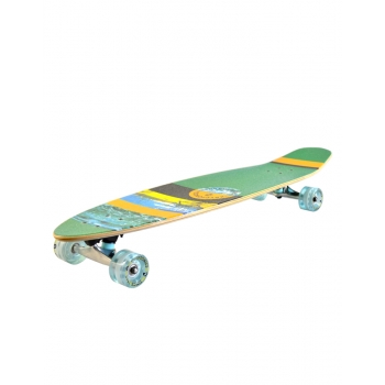 KRYPTONICS SKATEBOARD SUNNY DAY LONGBOARD 36""