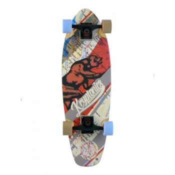 KRYPTONICS SKATEBOARD WEST COAST STEP UP CRUISER 27""