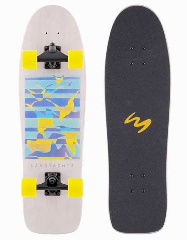 "LANDYACHTZ 31.6"" SURFSKATE SURF LIFE BIRDS"