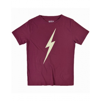 LIGHTNING BOLT FOREVER TEE RUBY WINE