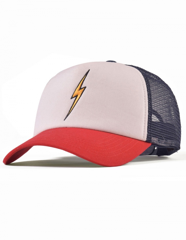 LIGHTNING BOLT TRUCKER HAT CAPPELLINO