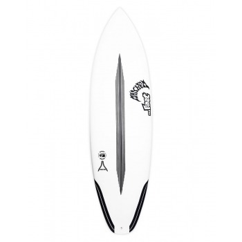 "LOST 5'8"" SHORT ROUND CARBON WRAP SQ FUTURES 5 FIN"