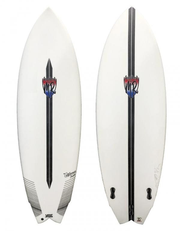 "LOST SURFBOARDS MARCK RICHARD 5'10"" THE CALIFORNIA TWIN LIGHT SPEED 3 FINS FCSII"