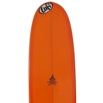 LUFI MAGIC MODEL 9'1'' PU LONGBOARD ARANCIO
