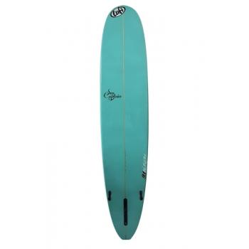 LUFI SEA CAPTAIN 9'1'' PU LONGBOARD BLUE/YELLOW PINLINE