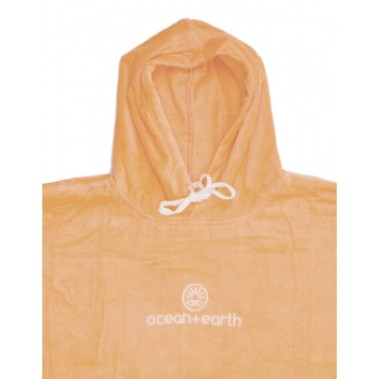 OCEAN & EARTH LADIES HOODED PONCHO IN SPUGNA DONNA