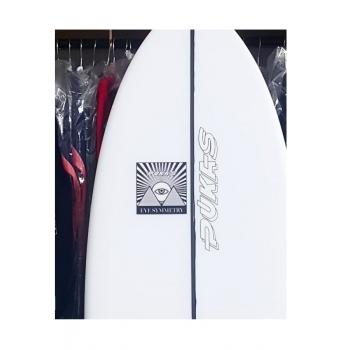 "PUKAS SURFBOARDS WOMBI FISH BY EYE SYMMETRY 5'08"""