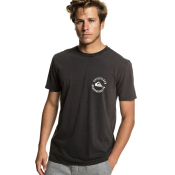 QUIKSILVER T-SHIRT SKULLED BLACK