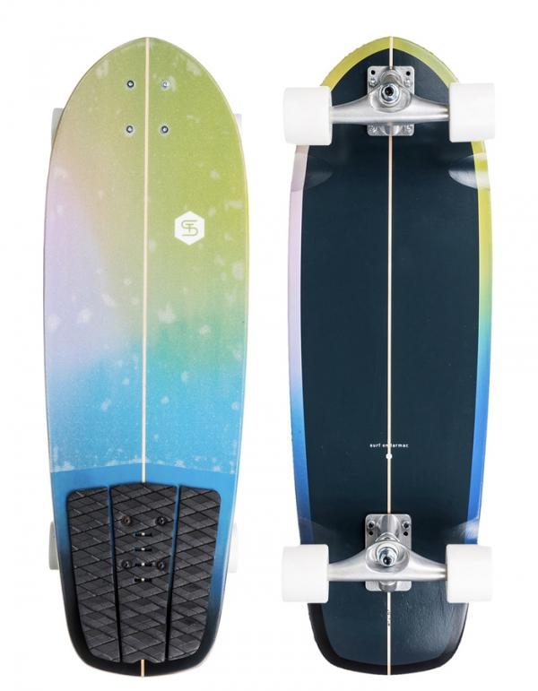 "QUIKSILVER VISION SURF SKATE 30"""