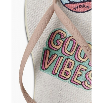 REEF INFRADITO ESCAPE LUX PRINT GOOD VIBES DONNA