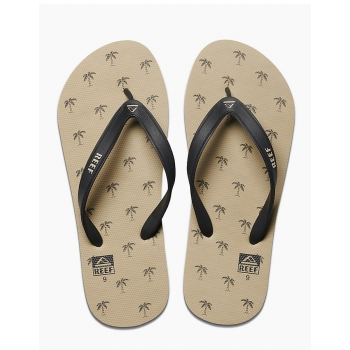 REEF SWITCHFOOT PRINT TAUPE PALMS INFRADITO