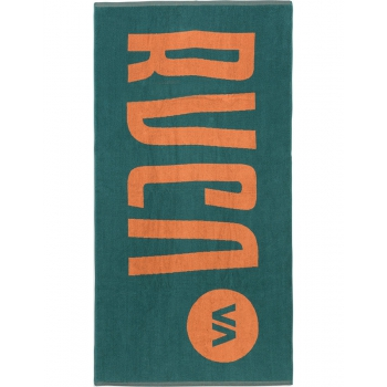 RVCA BEACH TOWEL TELO MARE LOGO