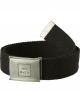 RVCA CINTURA FALCON WEB BELT BLACK