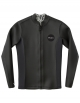 RVCA CORPETTO SMOOTHIE FRONT ZIP